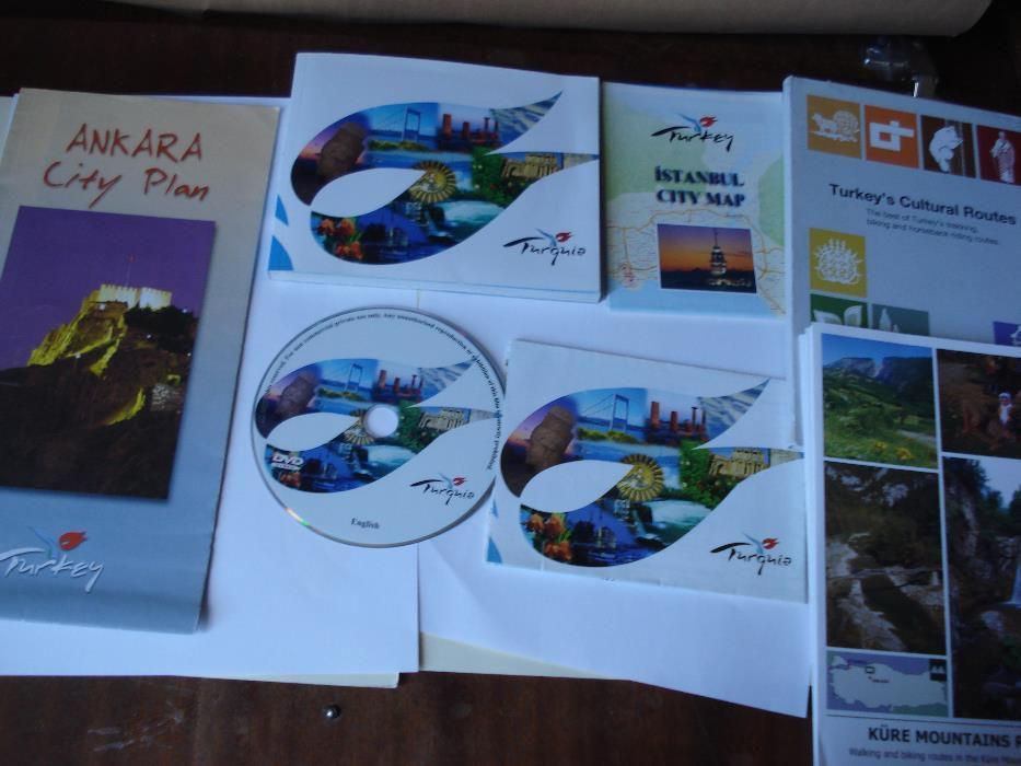 Livro/Mapas e CD Turquia