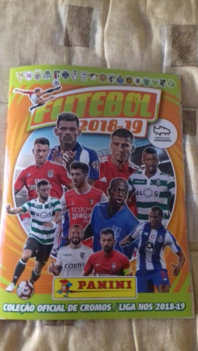 Futebol 2018-19 da panini