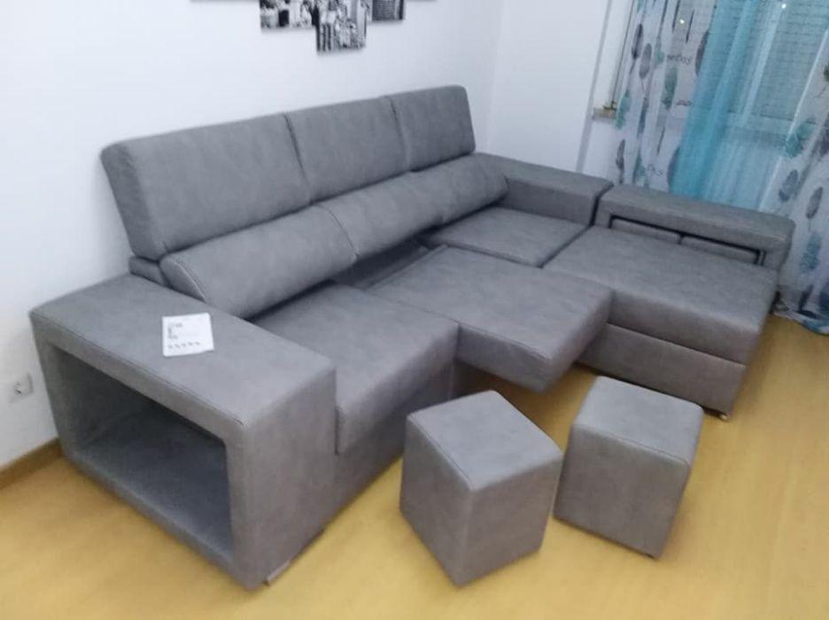 Sofá Cordoba com 270 cm, novo de fábrica chaise longue reversível Malveira E São Miguel De Alcainça - imagem 2