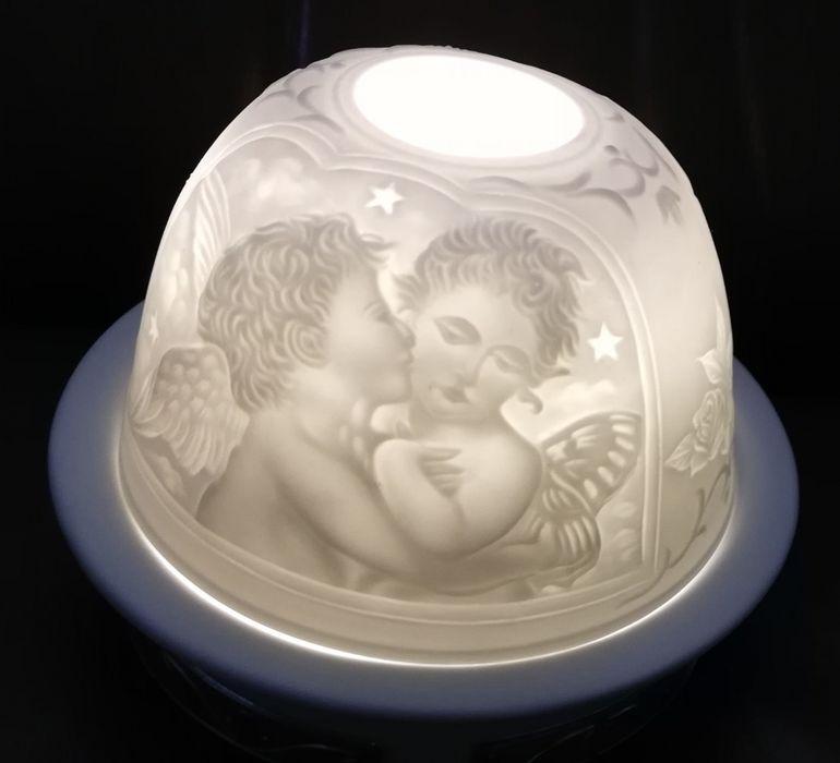 Luz de Presença Quarto Bebé c/ Prata (funciona a pilhas)