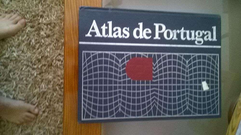 Livro Atlas de Portugal