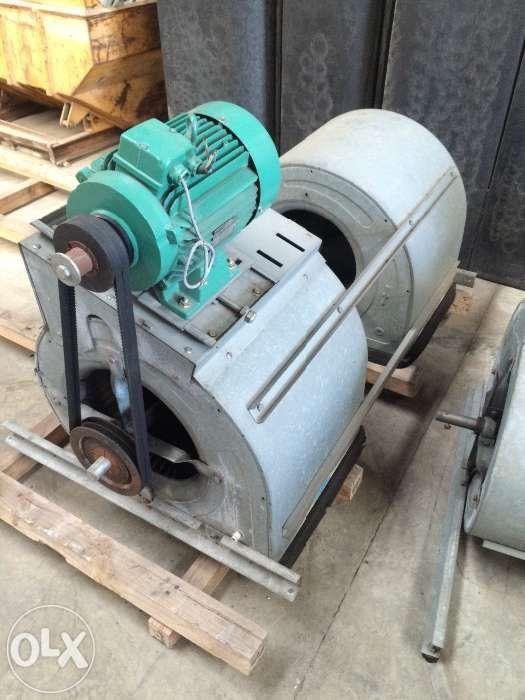 Extrator /ventilador para estufa, hotelaria, indústria .
