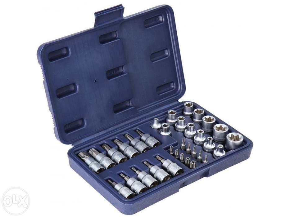 Kit Chaves Caixa / Bit Torx 34pc