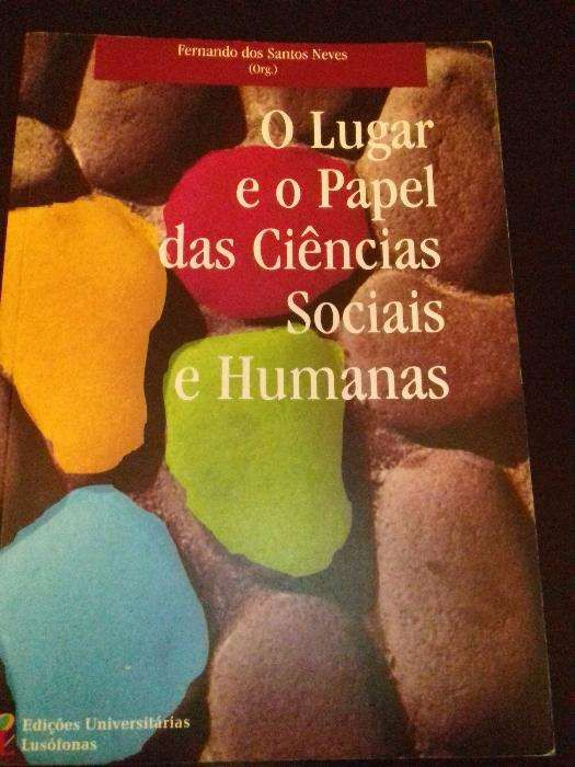 O lugar e o Papel das Ciências Sociais e Humanas