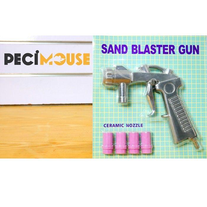 Pistola para maquinas de decapagem