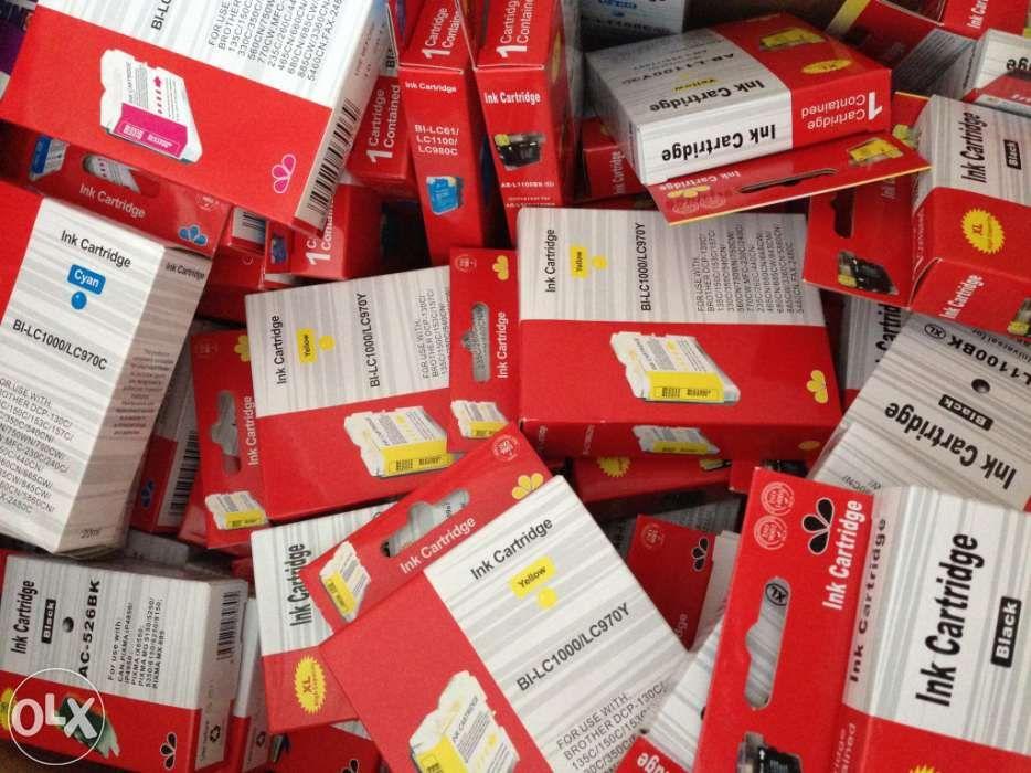 Pack 10 tinteiros compativeis canon cli-526