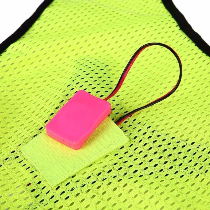 ff9756e644 Colete Refletor com LEDs para Caminhadas Running - NOVO Mafra - imagem 5