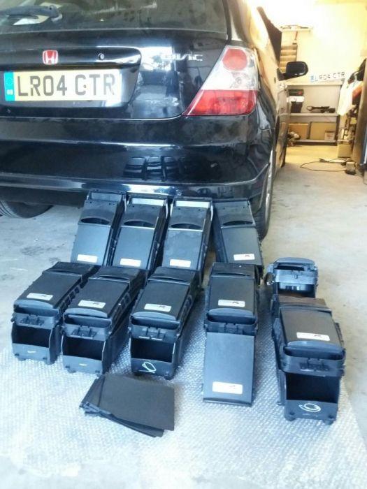 Civic Type R EP3 - Consolas centrais