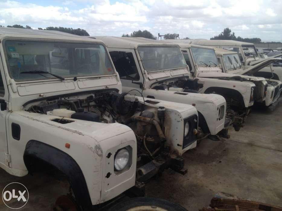 Peças Land Rover Defender