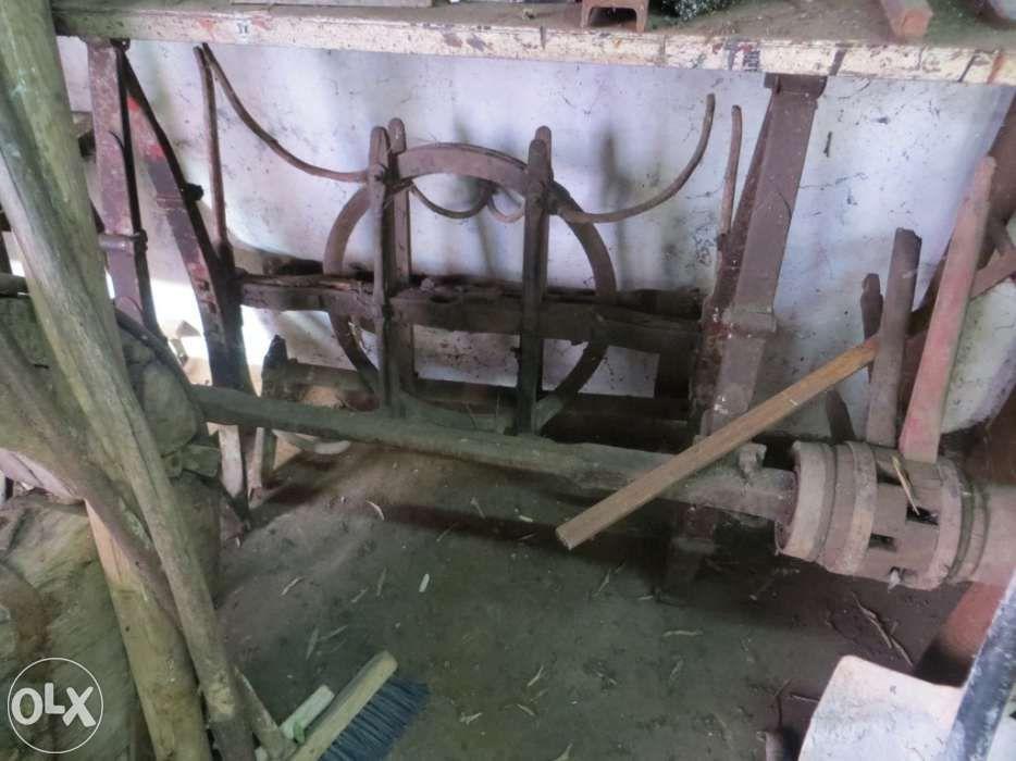 Carro de cavalos 4 rodas para restauro