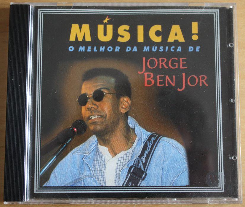 2 álbuns - JORGE BEN JOR - O Melhor da Música e GOLD, Novos