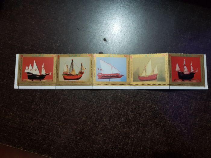 Selos do museu da marinhs
