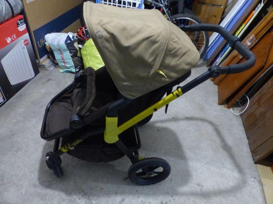 Carrinho de bebe Concord wanderer com conjunto de rodas extra