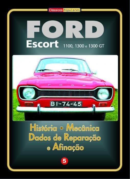 Ford Escort 1100 / 1300 / 1300 GT Manual Técnico
