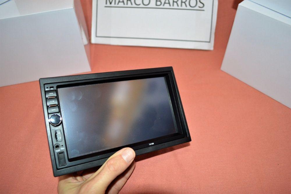 """Rádio 2DIN 7"""" Oferta Câmera + MOLDURA - Bluetooth USB Micro SD Paranhos - imagem 8"""