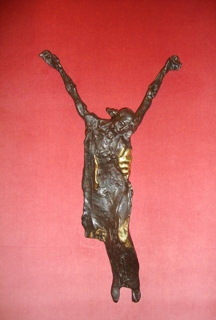 José Rodrigues - Cristo em bronze