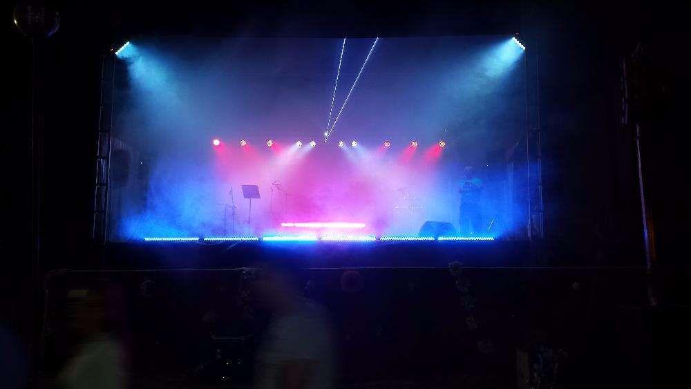 som / luz / Insuflavel / palco (ler descriçãoe ver fotos)