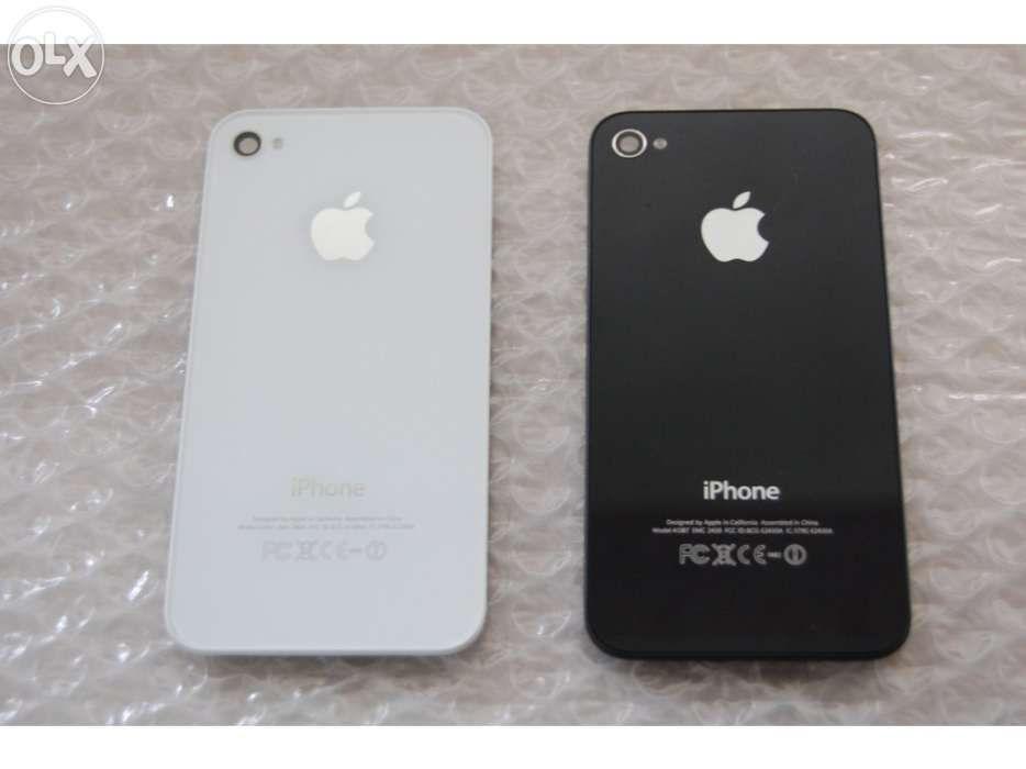 5d8d125b025 Tampa vidro traseiro tampa bateria original apple iPhone 4S