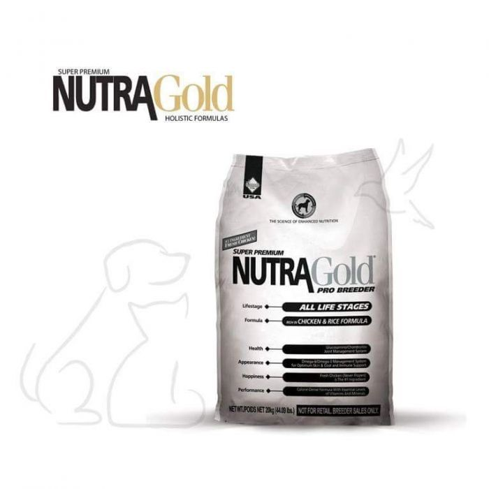 Ração Nutra gold super premium