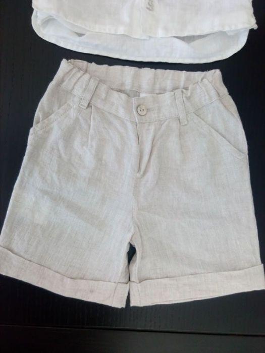 b06f3e8697 Conjunto de camisa e calção