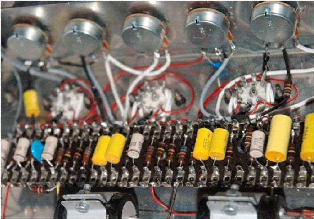 VOX AC-50/4 MKIII,1965 integralmente restaurado