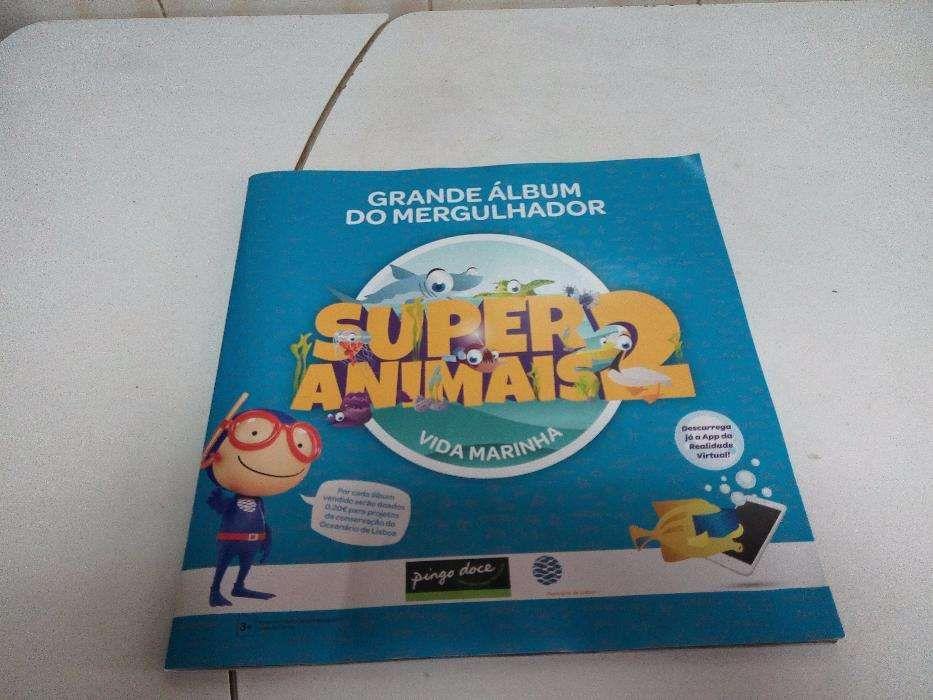 caderneta de cromos super animais 2