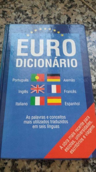 Livro Euro Dicionário