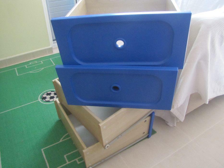 Arquivo: 2 unidades de módulos de gavetas IKEA, NOVO em