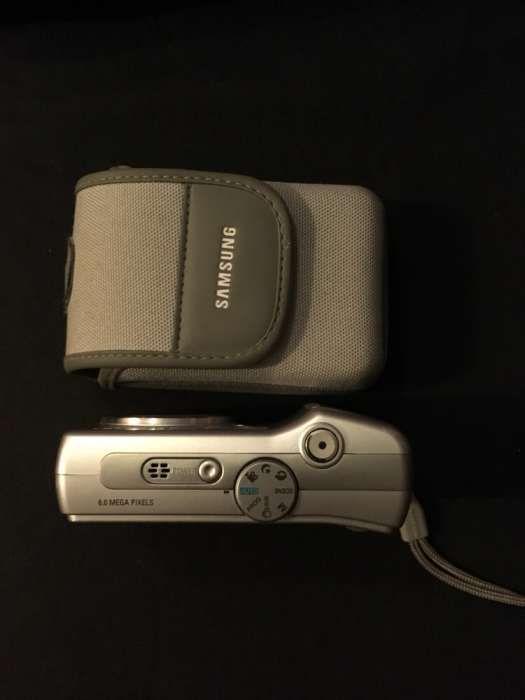 Máquina fotográfica samsung s630