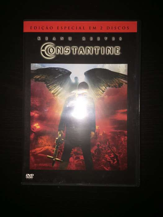 """DVD """"Constantine"""" (como novo)"""