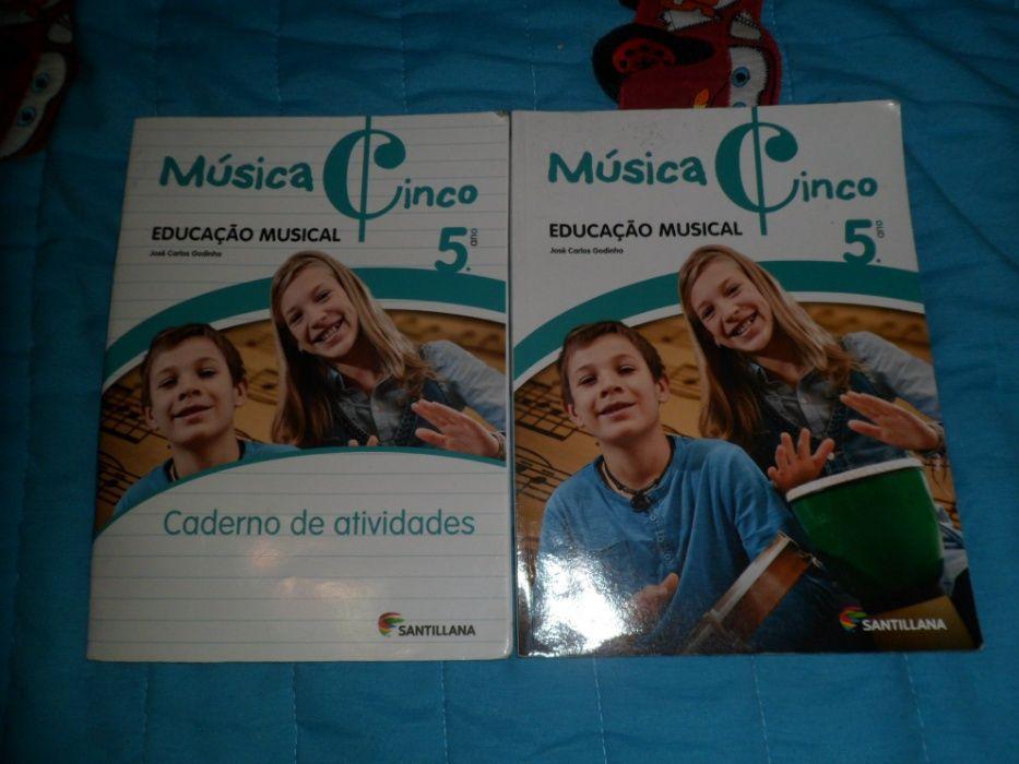 Manual Escolar Musica 5º Ano
