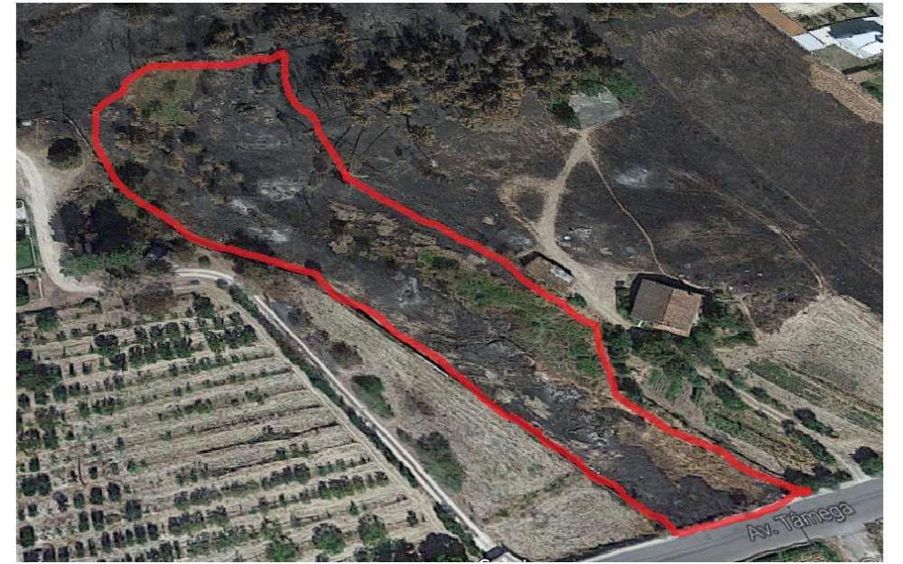 Terreno Loteado na Estrada de Chaves para Outeiro Seco