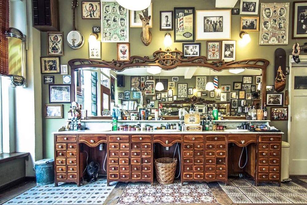Fabricante Mobiliario barbeiro personalizado