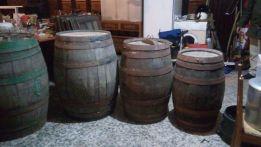 Pipo de madeira de carvalho de 550 litros