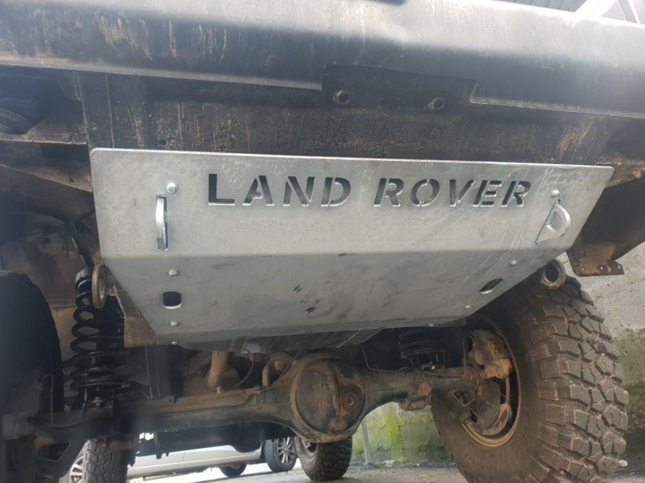 Proteção de depósito Land Rover