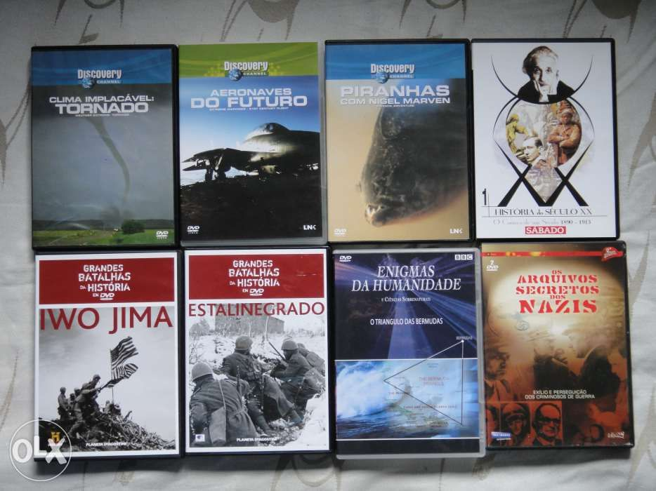 varios documentarios dvd