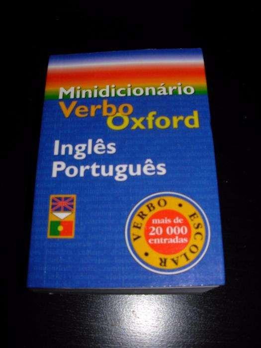 Mini dicionário Verbo Oxford Inglês Português NOVO (30%desc)