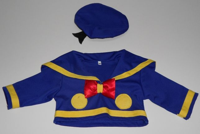 disfarce de carnaval roupa Pato Donald