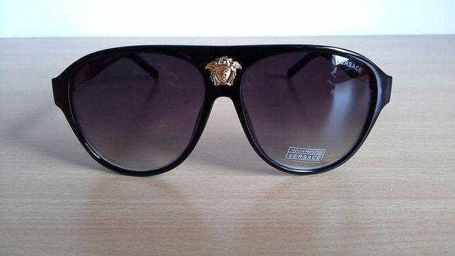 Czarne okulary Versace Vinted
