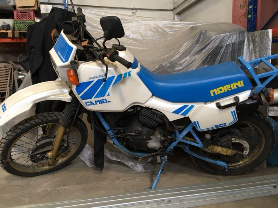 Moto Morini- moto de coleção completa e restaurada