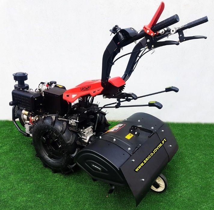 Motocultivadores Novos 10 Cv Diesel - Fresa 80cm - Motor Arranque Gondomar - imagem 3