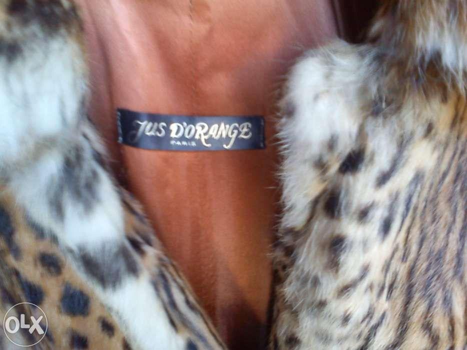 Casaco leopardo verdadeiro comprado em Paris como novo