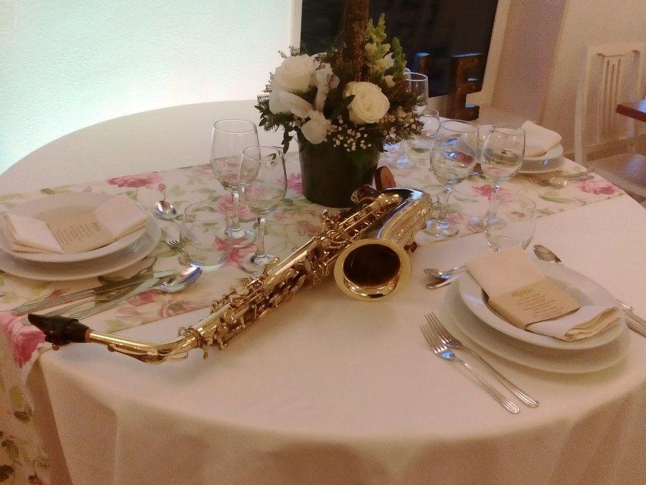 Saxofonista de eventos e casamentos