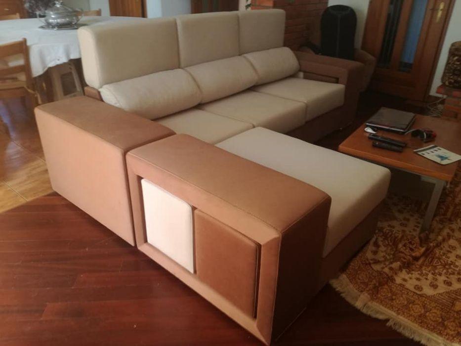 Sofá Cordoba com 270 cm, novo de fábrica chaise longue reversível Malveira E São Miguel De Alcainça - imagem 5