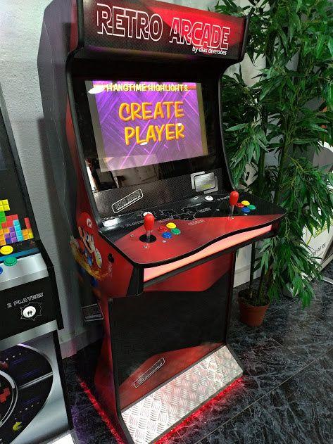 Máquina de Jogos Arcade - (Novas)