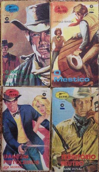 2 Revistas Shane - novela western