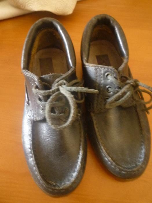 Sapatos em pele nº 34 Fabricado em Portugal Campolide - imagem 8