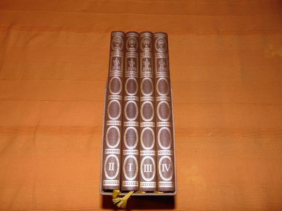 A Vida de Jesus (Colecção de 4 livros)