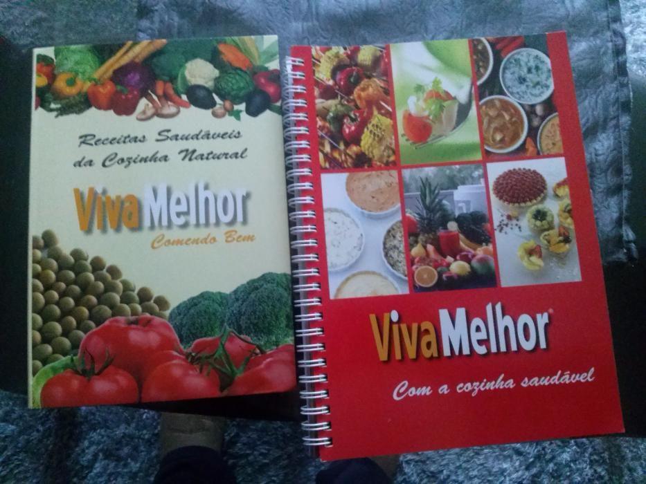 Livros viva melhor Receitas saudáveis
