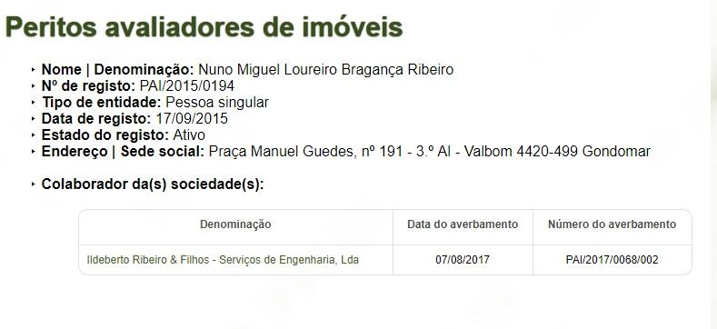 Avaliação Imobiliária - Perito Avaliador CMVM